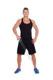 Мышечная тренировка человека стоковые фото
