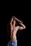 Мышечное мыжское тело Стоковая Фотография RF