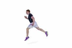 Мышечный ход игрока рэгби Стоковая Фотография RF