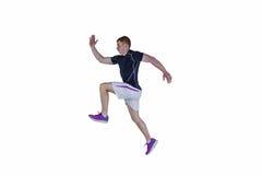 Мышечный ход игрока рэгби Стоковые Фотографии RF