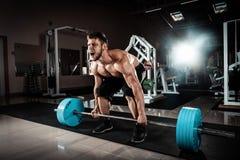 Мышечный человек Стоковое Изображение RF