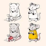 Мыши шаржа Стоковая Фотография