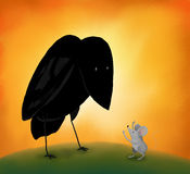 мышь вороны Стоковое Изображение RF