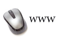 Мышь Всемирного Веба Стоковые Изображения RF