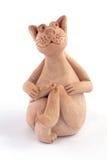 мышь глины кота Стоковые Изображения