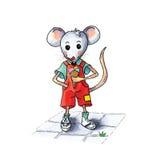 Мышь - лед Стоковая Фотография