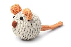 Мышь игрушки для изолированного кота Стоковое Изображение RF