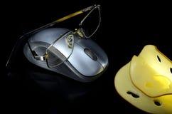 Мышь и сыр Стоковые Фото
