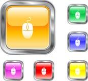 мышь кнопки Стоковое Фото