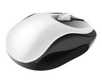 Мышь компьютера в объекте равновеликого взгляда изолированном Стоковая Фотография