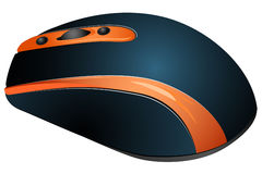 Мышь компьютера иллюстраций вектора Стоковые Фотографии RF