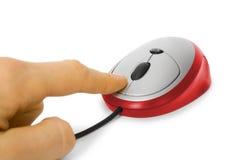 мышь компьютера click стоковая фотография rf