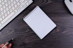 Мышь клавиатуры ручки Стоковая Фотография