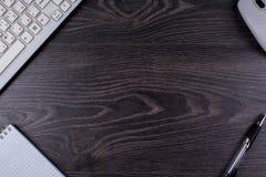 Мышь клавиатуры ручки Стоковые Фото