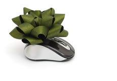 мышь подарка стоковое изображение
