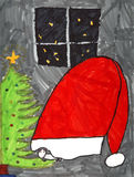 мышь рождества Стоковое Изображение