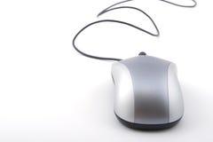мышь серого цвета компьютера стоковое изображение rf