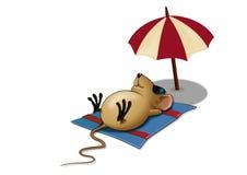 мышь сонная Стоковое Фото
