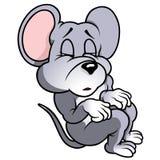 Мышь спать Стоковые Изображения