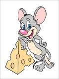 Мышь с сыром Бесплатная Иллюстрация