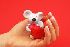 мышь figurine стоковое фото rf