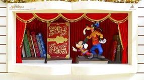 Мышь Mickey и Плутон Стоковые Изображения