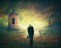 Мы все Дон Quixotes Стоковые Изображения