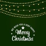 Мы желаем вам предпосылку веселого рождества иллюстрация штока