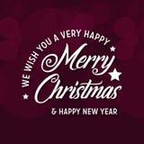 Мы желаем вам предпосылку веселого рождества бесплатная иллюстрация