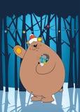 Мы желаем вам с Рождеством Христовым Стоковое Изображение RF