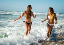 Мы любим пляж Стоковое Изображение RF