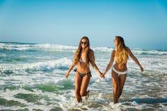 Мы любим пляж Стоковые Фотографии RF