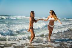 Мы любим пляж Стоковое Изображение