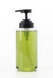 мыло бутылки жидкостное пластичное Стоковое фото RF