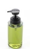 мыло бутылки жидкостное пластичное Стоковая Фотография RF