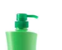 мыло бутылки жидкостное пластичное Стоковые Изображения