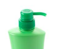 мыло бутылки жидкостное пластичное Стоковые Фотографии RF