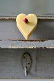 Мыло сердца стоковые изображения