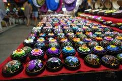 мыло Цветк-формы на рынке Стоковые Фотографии RF