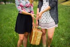 Мы пикник сердца Стоковые Фото
