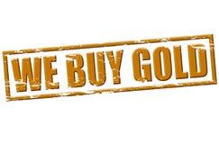 Мы покупаем золото бесплатная иллюстрация