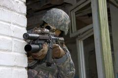Мы солдат Стоковые Изображения RF
