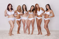 Мы любим наши тела Стоковые Фотографии RF