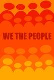 Мы люди Стоковые Фотографии RF
