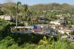 Мы ` re американец все еще в Пуэрто-Рико Стоковые Изображения