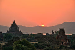 Мьянма Bagan TempleStupa Стоковые Изображения