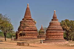 Мьянма Bagan TempleStupa Стоковое Фото