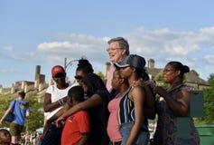 Мэр Джим Strickland Мемфиса на событии Мемфиса двухвековом, TN стоковые изображения rf