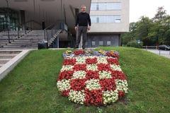 Мэр хорватской столицы Загреба Стоковая Фотография