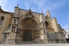 Мэр Archpriestal Церковь Ла Санта MarÃa, Morella стоковая фотография rf